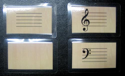 Musikkarten/Notenkarten