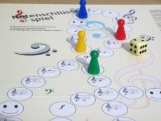 Notenschlüsselspiel (DIN A3+)