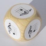 Notenwürfel mit pentatonischer Tonleiter