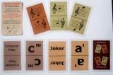 Notenkartenspiel für Stammtöne c bis c - Mau-Mau, Schwarzer Peter, Halli-Galli, Quartett mit Noten spielen