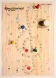 Notenschlüsselspiel für Klavier (DIN A4 oder A3)