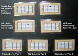 Griffbildkarten Gitarre