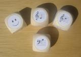 Notenwürfelspiel für Klavier